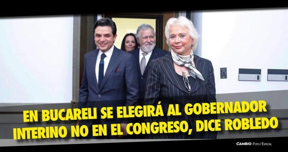 Olga Sánchez se compromete a que el interino no será ningún personaje de Morena