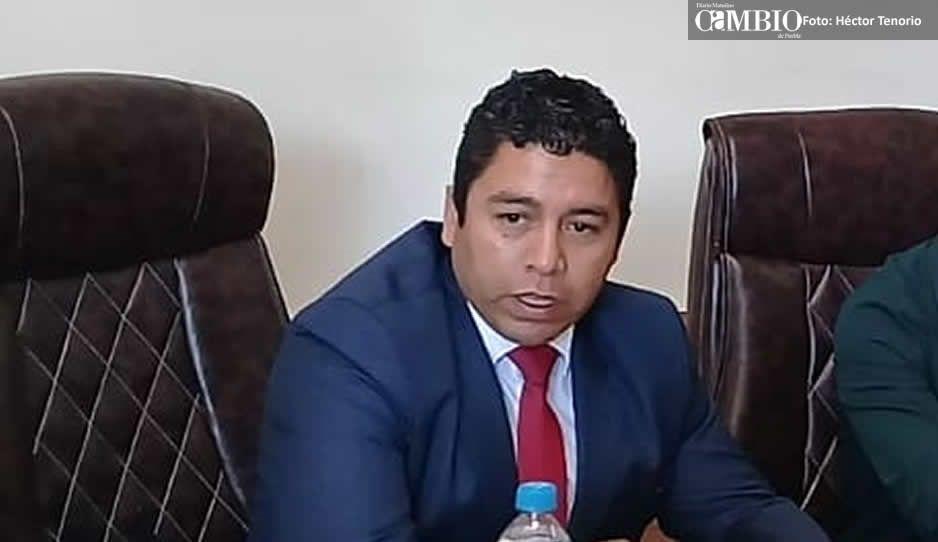 Titular de Seguridad de Huejotzingo, sin examen de control y confianza