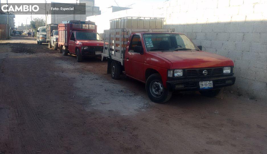 Juntas auxiliares de Texmelucan, foco rojo en robo de vehículos