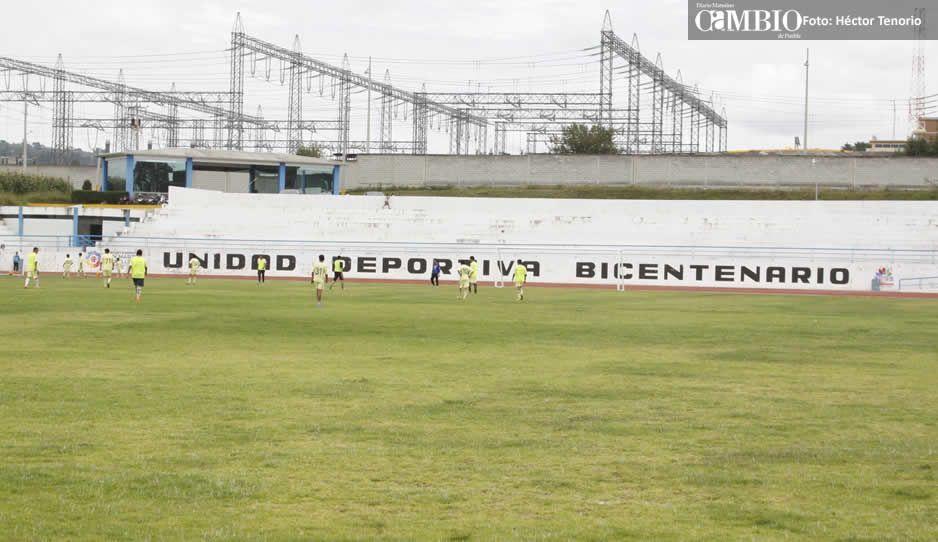 Por violencia en Texmelucan ejército convierte unidad deportiva en centro de operaciones