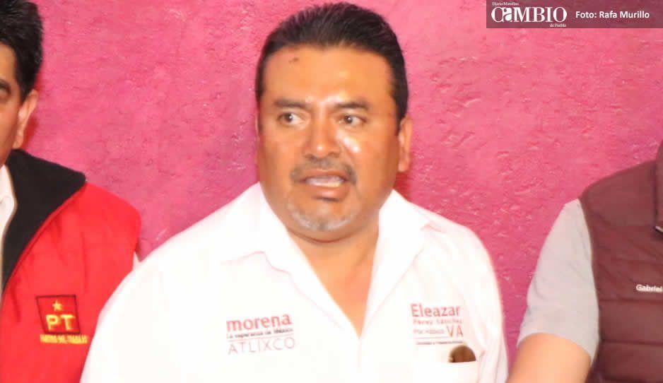 Denuncia Morena entrega de propaganda negra en Atlixco