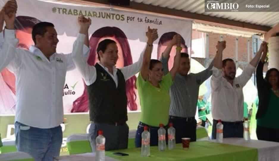 Oficial: Cecilia Monzón es candidata del Verde a la alcaldía de San Pedro Cholula