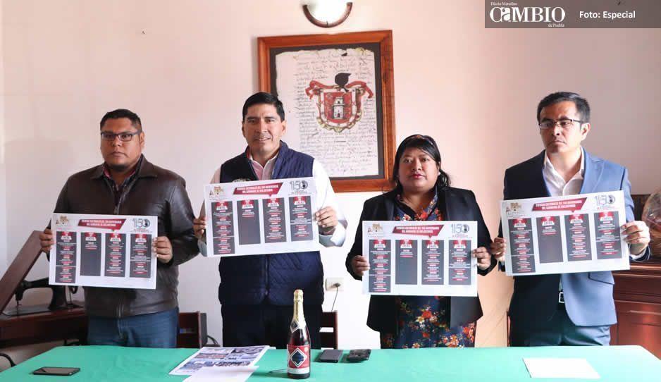 Presentan 150°Aniversario del Carnaval de Huejotzingo