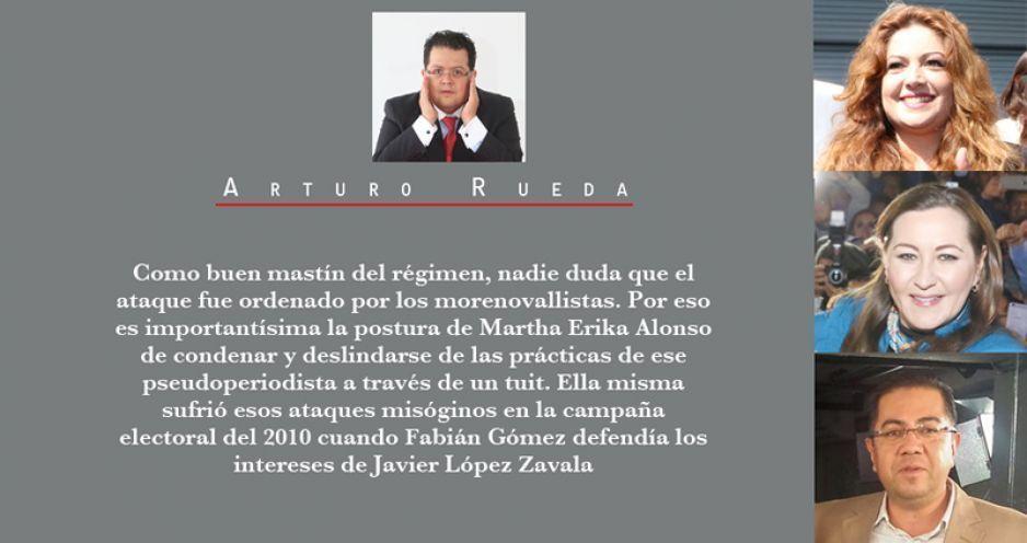 Violencia política de género: Violeta, Martha Erika, Fabián