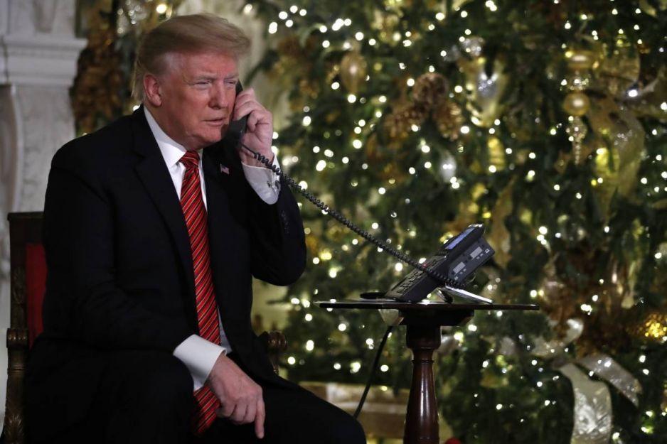 Donald Trump destruye la ilusión de un niño de 7 años por Santa Claus