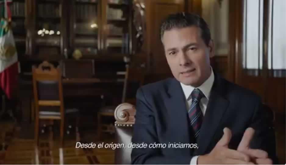 Peña dice que entrega un mejor México que el de hace 6 años (VIDEO)