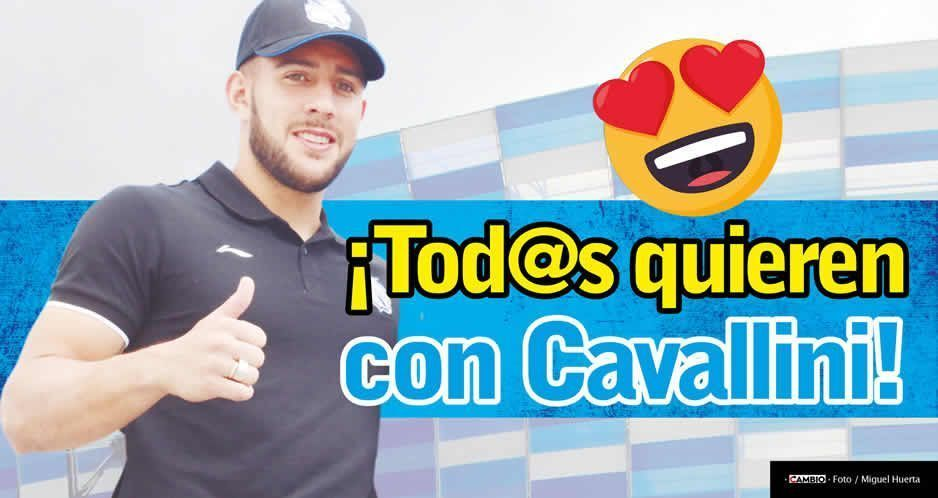 ¡Tod@s quieren con Cavallini!