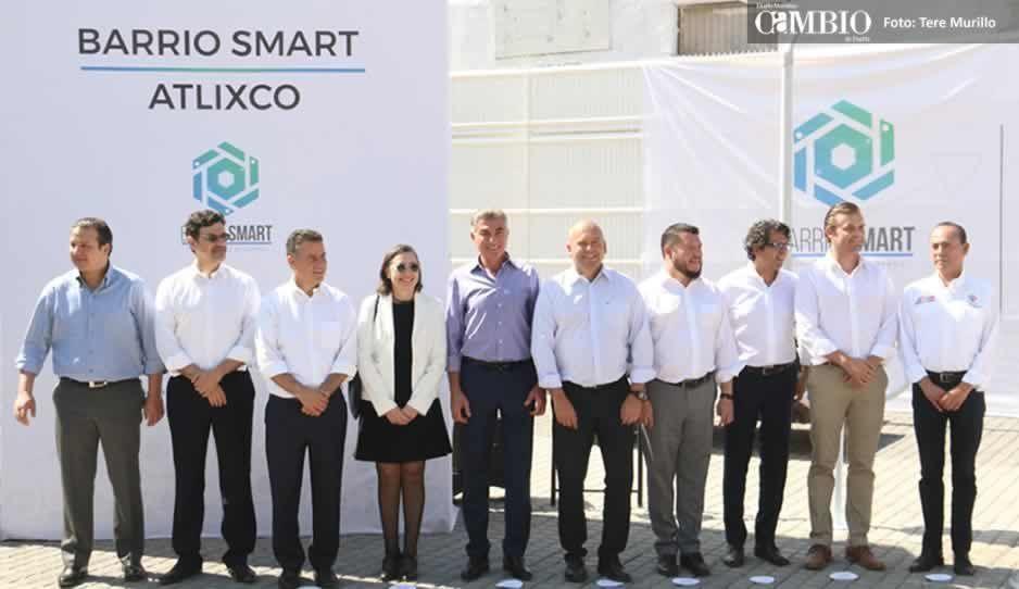 Inauguran el primer Barrio Smart de Latinoamérica en Atlixco