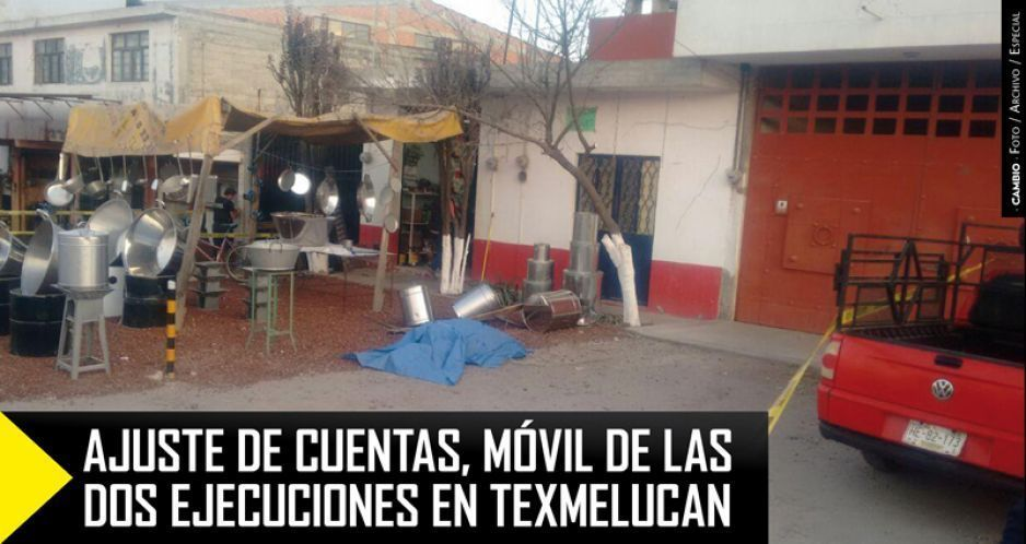 Ajuste de cuentas, móvil de las dos ejecuciones en Texmelucan