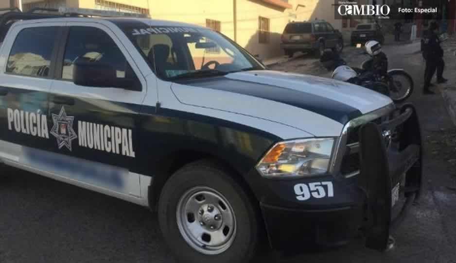 Policías encuentran a hombre brutalmente golpeado en Texmelucan