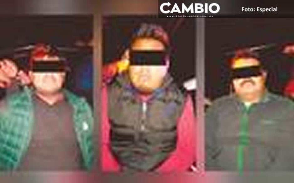 Balacean a policías de Ocoyucan tras detener a tres hombres armados