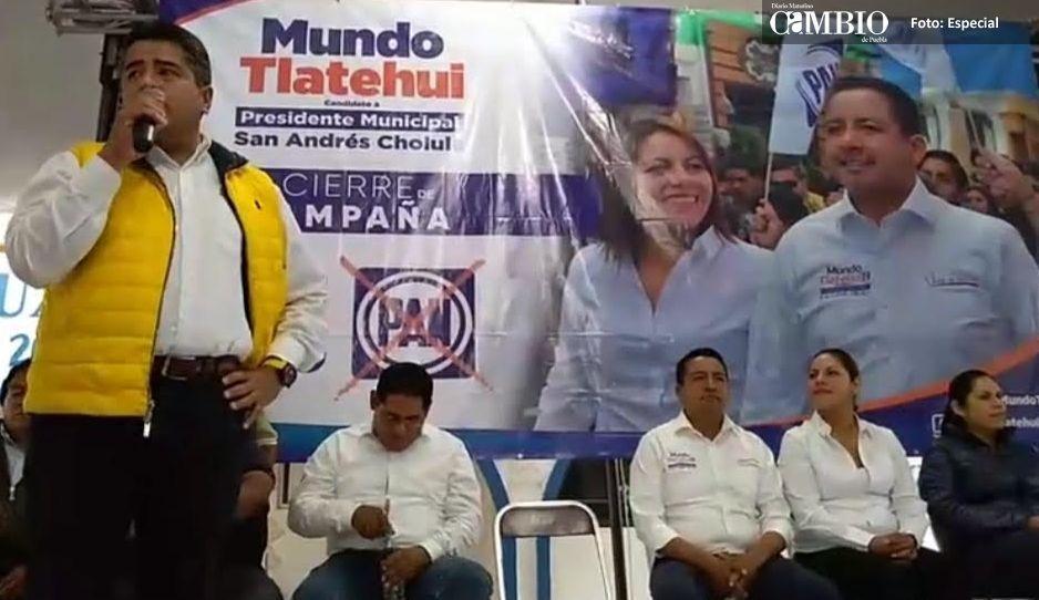 Candidatos del PRD y PAN en San Andrés se alían para evitar triunfo de Morena