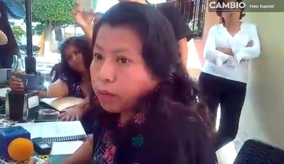 Diputada federal de Morena rechaza a Barbosa otra vez como candidato (VIDEO)
