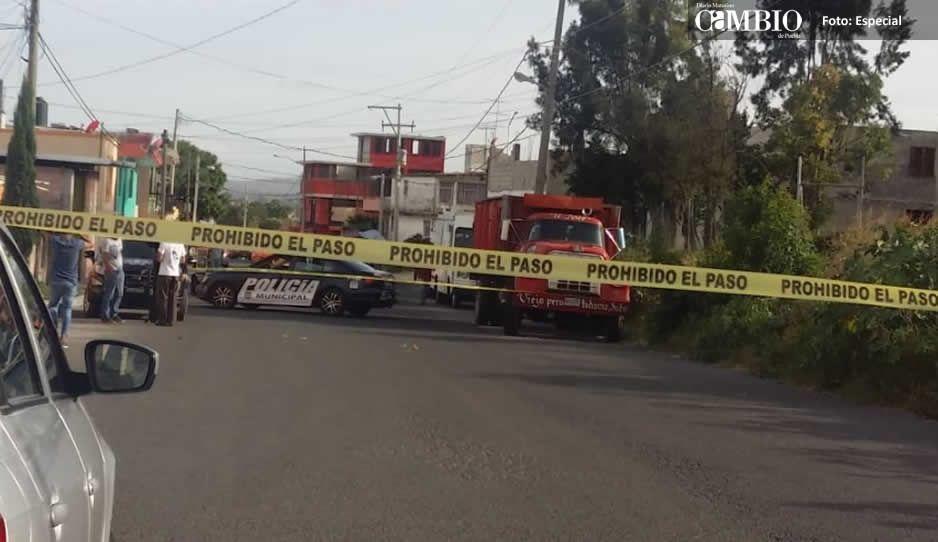 Balacera en Lomas de San Miguel desata fuerte movilización policiaca