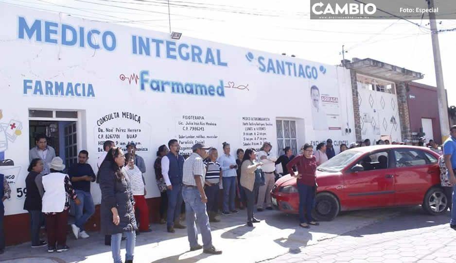 Alcalde Arriaga pelea control de agua potable a Momoxpan