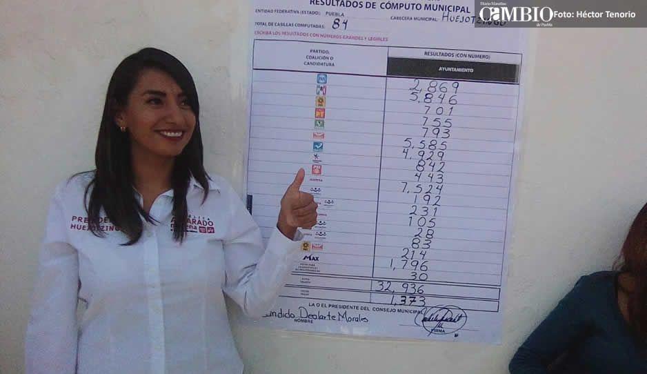 Perfil: Ella es Angélica Patricia Alvarado,  nueva presidenta chapulina de Huejotzingo