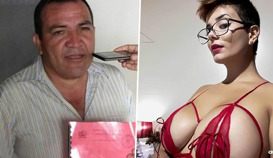 Actriz porno exhibe a concejal que le ofreció dólares por sus servicios