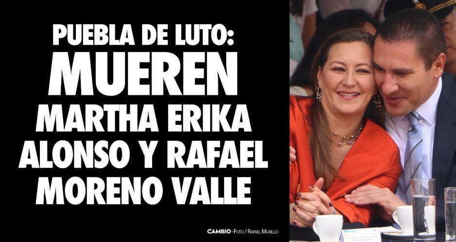 Se confirma la muerte de Moreno Valle y Martha Erika en helicopterazo: Puebla se queda sin gobernador