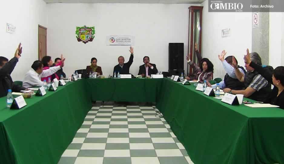 Niegan amparos a funcionarios, regidores y a la esposa del alcalde de San Martín