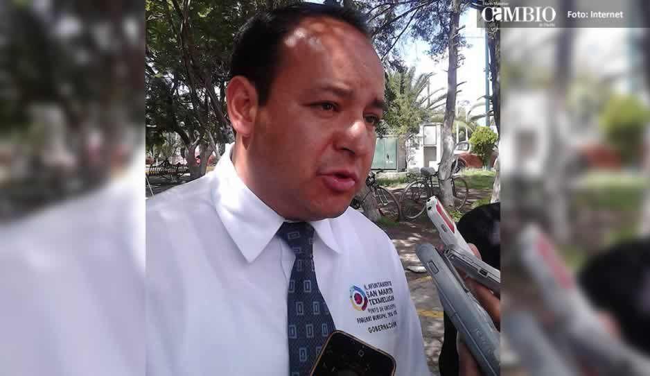 Director de Gobernación de Texmelucan pide a Mario Rincón cumplir con acuerdos pactados