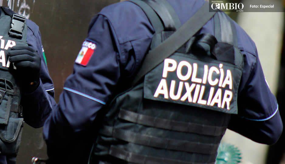 Acusan a seis policías auxiliares por extorsión