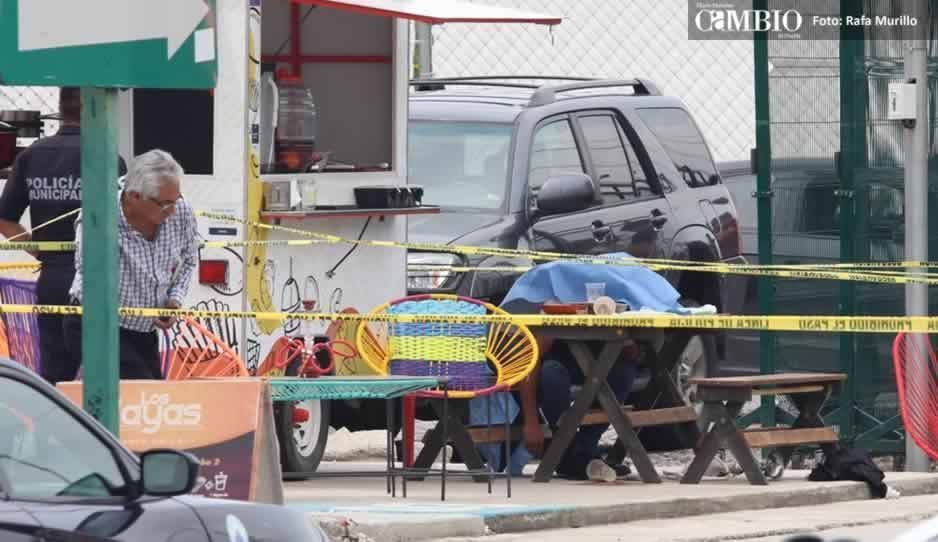 Balacera en los food trucks de atrás de la Ibero deja un muerto (FOTOS y VIDEO)