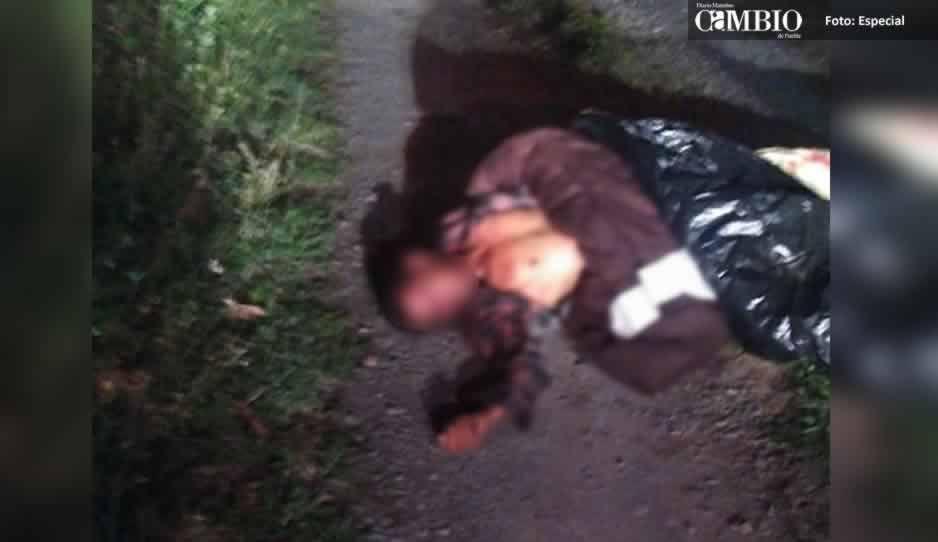 Localizan otro cadáver embolsadlo en Atlixco