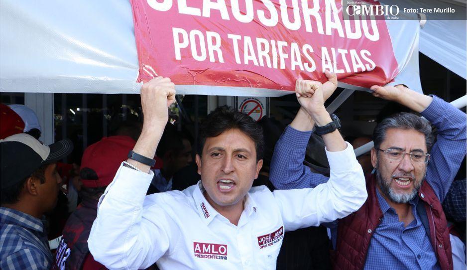 VIDEO: JJ's Show presenta: ridiculazo en clausura simbólica de Agua de Puebla