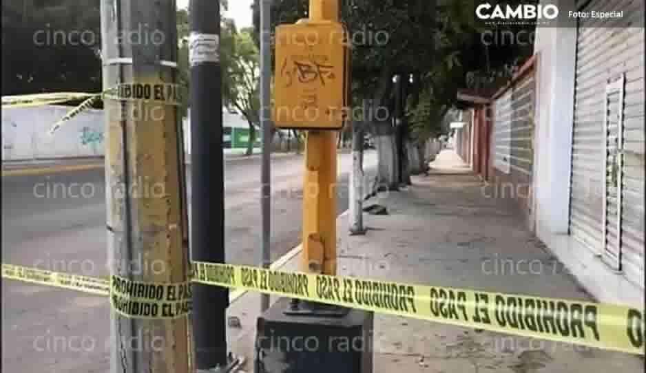 Un lesionado fue el saldo de un enfrentamiento entre sujetos armados y elementos de la policía en Tehuacán