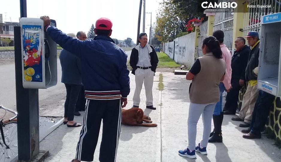 Continúa la disputa entre Ferrosur y vecinos de Moyotzingo, esta vez por un puente peatonal