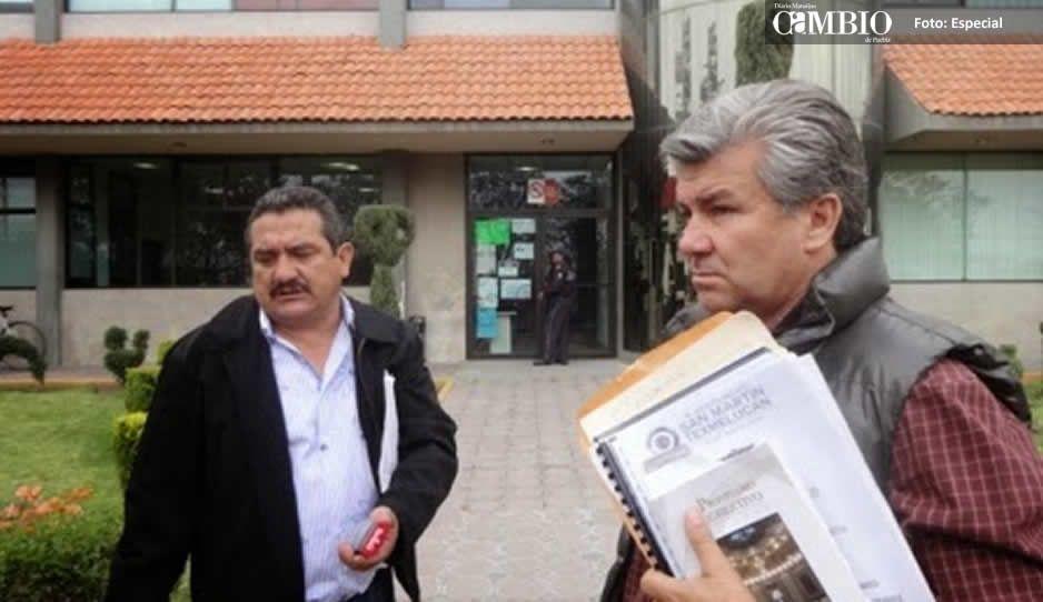 Investigan al ex director de obras en Texmelucan por tráfico de influencias