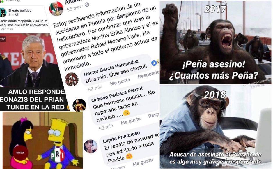 Poblanos vs chairos se dan con todo en redes ante el #AMLOAsesino