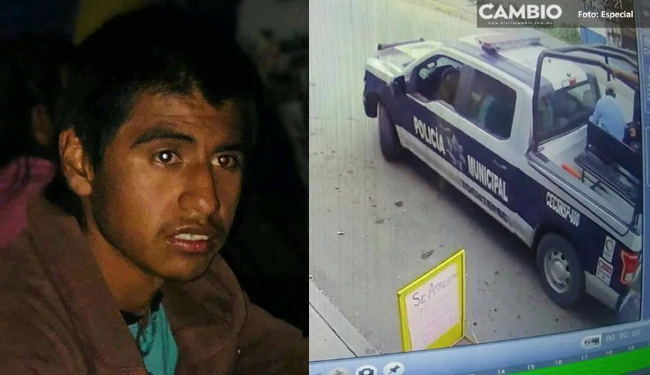 Desaparece joven que padece ataques de epilepsia luego de ser detenido por policías de Tochtepec