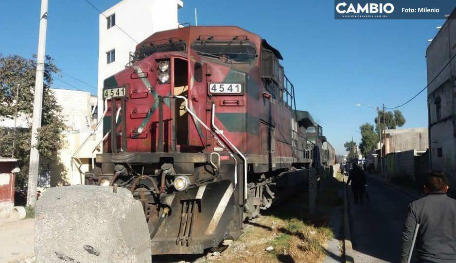 Saqueatrenes hacen de las suyas en San Pablo Xochimehuacán, se robaron 10 toneladas de cemento