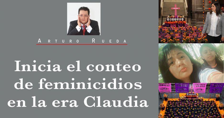 Inicia el conteo de feminicidios en la era Claudia