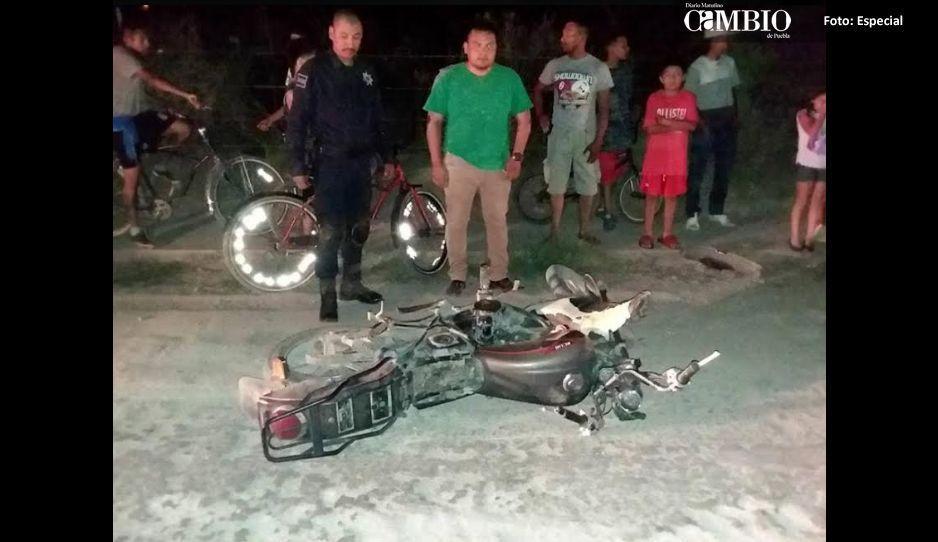 Hieren a dos motociclistas en balacera de Tochtepec