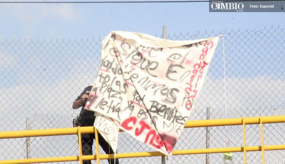 Amenazan a grupos del CJNG con narcomensaje en Texmelucan
