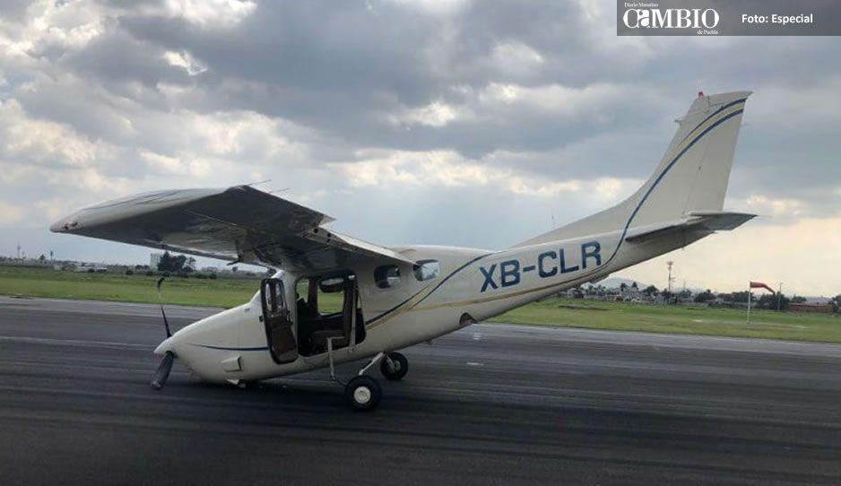 Avión realiza aterrizaje de emergencia en aeropuerto de Toluca