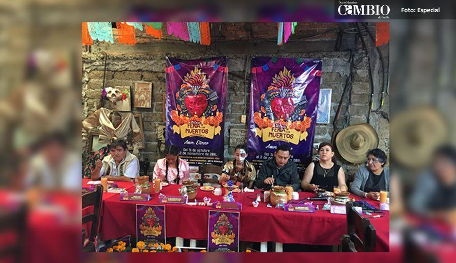 Anuncian el Festival de los Muertos en Huaquechula