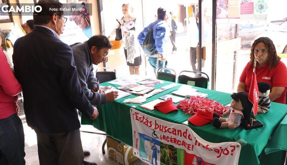 Puebla, sexto estado con menos desempleados a nivel nacional