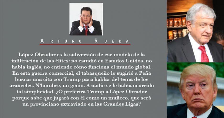 A quién prefiere Trump como presidente. ¿A López Obrador?