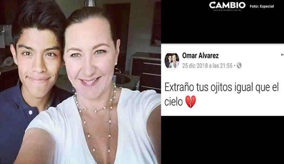 Te amo mami, así se despidió Omar, el joven que ayudó Martha Erika