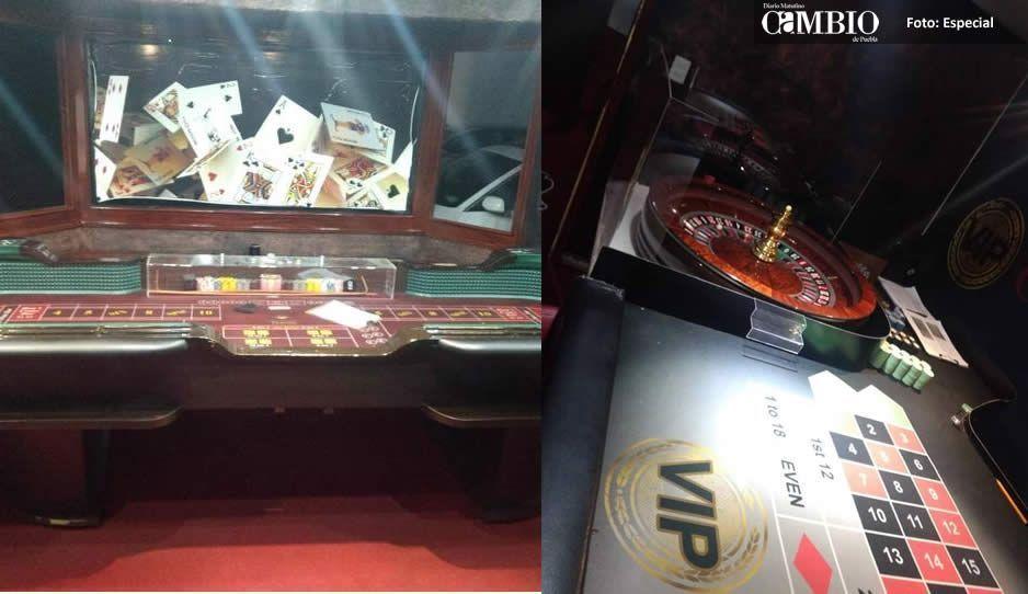 Catea PGR casino ilegal en Reforma Agua Azul; asegura mesas de póker, blackjack y una ruleta