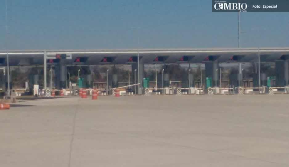 En marzo se entregarán 15 carriles de las casetas de peaje de Texmelucan