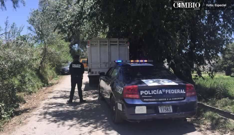 Aseguran cuatro unidades ligadas al robo de combustible en El Verde