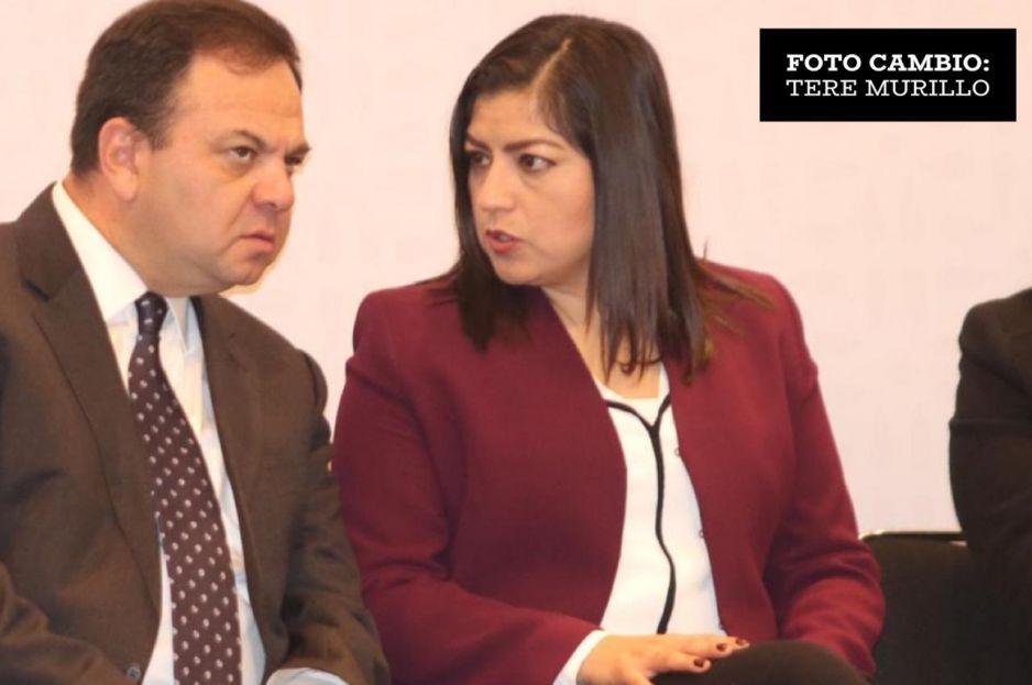 Extrabajadores despedidos fueron manipulados para realizar el plantón: Claudia