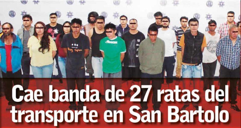 Desarticula la SSPTM a dos bandas criminales en El Refugio y San Bartolo