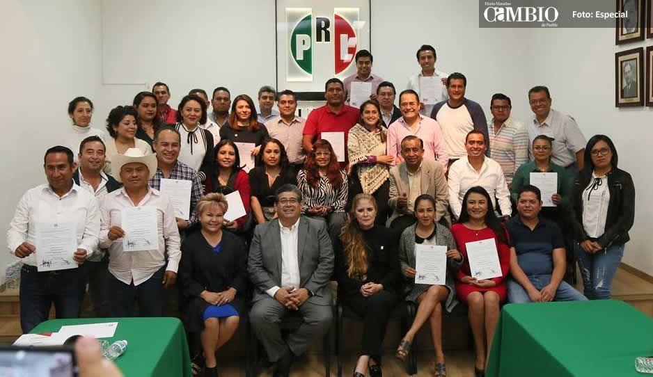 Nombra Javier Casique Zárate a 26 coordinadores regionales del PRI