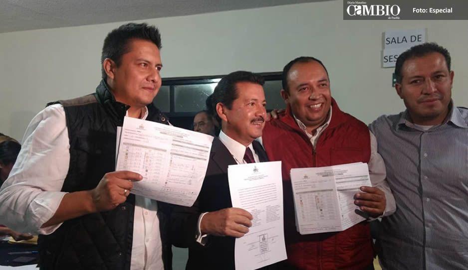 Entregan constancia de mayoría a Luis Alberto Arriaga en San Pedro Cholula