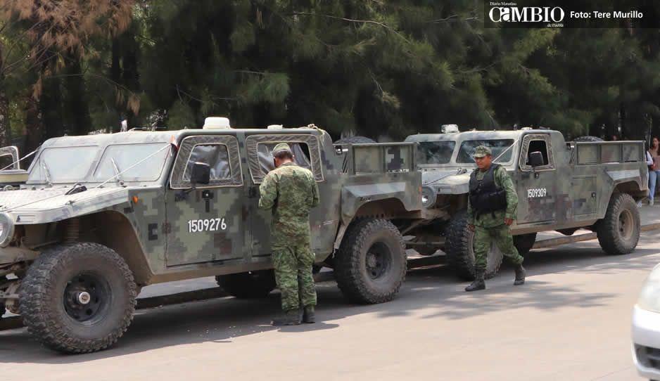 Huachicoleros retuvieron unidades del Ejército y Cruz Roja en La Purísima